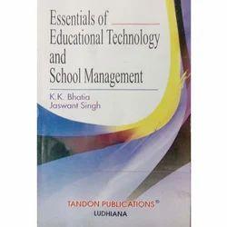 Essentials  Educational Technology  School Management Book