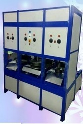 LCM Automatic Triple Die Paper Plate Making Machine, 220 V, 80 - 100 GSM