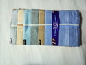 Cotton Embroidered Gents Handkerchiefs Set Packs