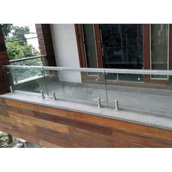 Stainless Steel Toughened Glass Railing