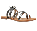 Synthetic Bata Grey Sandals For Women