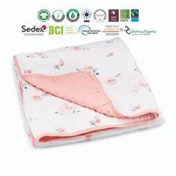 100% Soft Cotton Baby Blankets