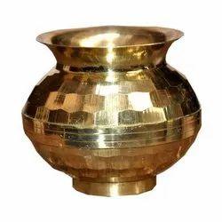 Brass Daimond Lota