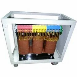 Dry type/Air cooled Three Phase Control Transformer, for Commercial