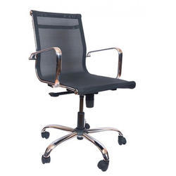 Slick Mesh Medium Back Chair