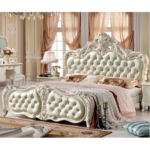 Off White Fancy Designer Bed, Rs 72000 /unit, Nice