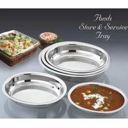 Store And Service Tray Set