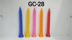 Soft Twist Candle (set Of 1)