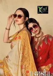 Kessi Yashasvi Silk Jacquard Fancy Saree Catalog