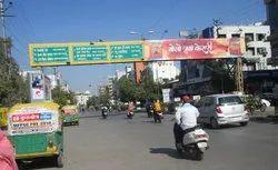 4 To 7 Days Gantry Advertising Service, in Pan India