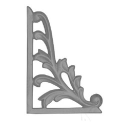 Designer Iron Railing Pillar