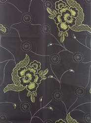 Roto Gold Print Mattress Cover Fabric