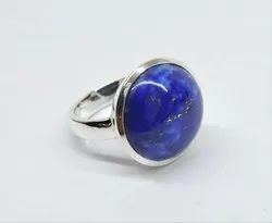 Lapis Lazuli 92.5 Sterling Silver Ring