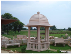 Pink Sand Stone Gazebo