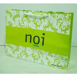 Printed White Paper Bag