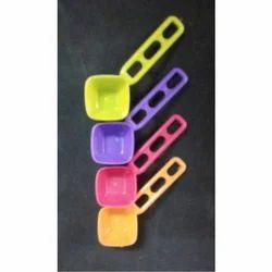 Rishabh Plastics Detergent ( masala)Plastic Spoon, For Home