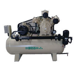 New Two Stage 20 HP High Pressure Compressor, Hp-20 Eco