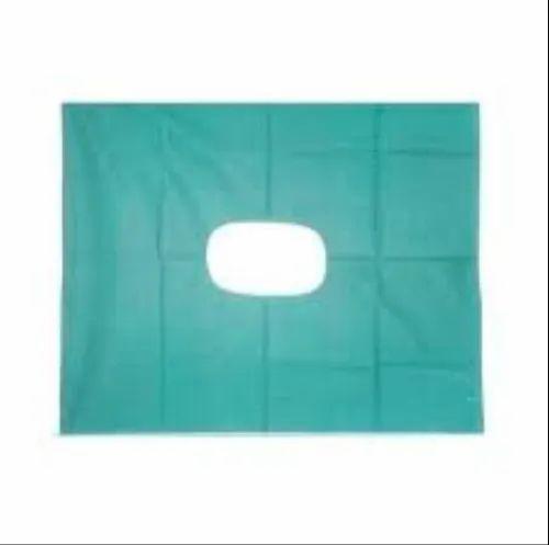 Woven Center Hole Sheet, Packaging Type: Packet