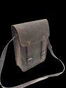 Vintage Leather Postman Messenger Bag