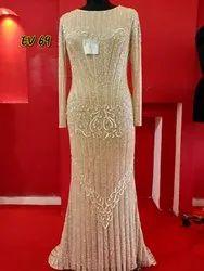 Net Party Wear Ladies Designer Dress
