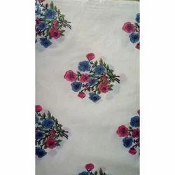 Designer Floral Print Dress Material