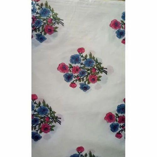 Printed Designer Floral Print Dress Material Gsm 150 200 Rs 110