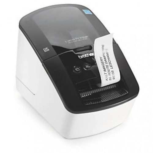 how to print labels on brother printer