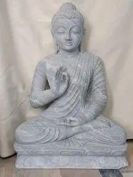 Natural Marble Buddha Sculpture