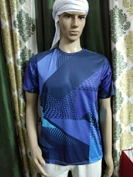 Full Sublimation Printed T Shirt For Cricket Team