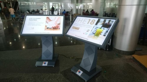 VIRTUBOX Touch Screen Informative Kiosk, Screen Size: 22 Inch To 55 Inch