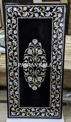 Stone Inlay Mother Of Pearl Table Top