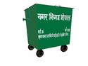 Compactor Wheeled Garbage Bin