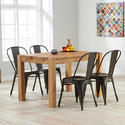 Dining Set, Seating Capacity: 4, Size: 1300*800*755mm