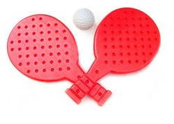 Plastic TT Bat & Ball Set