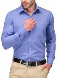 Mens Cotton Full Sleeve Plain Shirts