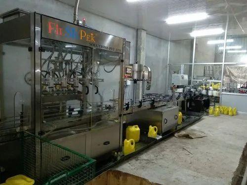 Edible Oil Filling Plant