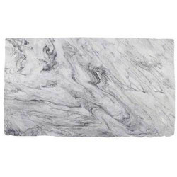 White Textured Marble Slab
