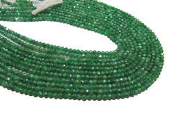 Emerald Moonstone AB Coated Beads