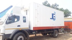Isolated Truck Container