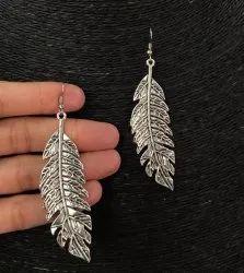 Trendy Oxidized Earrings