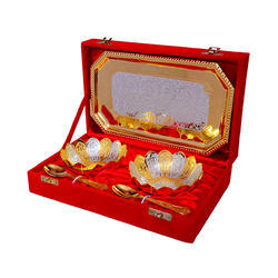 Silver And Gold Plated Wedding Gift
