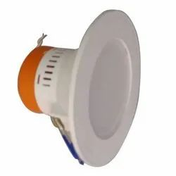Wall Mounted Round 7 W LED Concealed Light, For Hotel