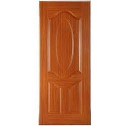 Brown Molded Fiber Door