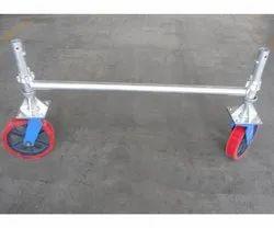 AR AR Rubber 10 Scaffolding Trolley Castor Wheel with Brake