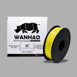Wanhao Original Yellow PLA 1.75mm 3D Printer Filament