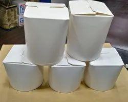 Plain noodle box