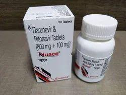 Nauce ( Darunavir 800 Mg Ritonavir 100 Mg)