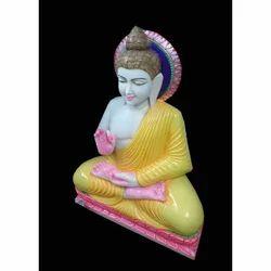 Marble Sitting Buddha Statues
