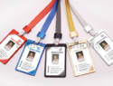 Idjet Metallic Aluminum Id Card Holders With Plastic Protection Glass