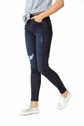 Skin Fit Regular Women Export Surplus Branded Jeans / Denim